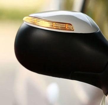 قاب چراغدار آینه بغل پژو 206