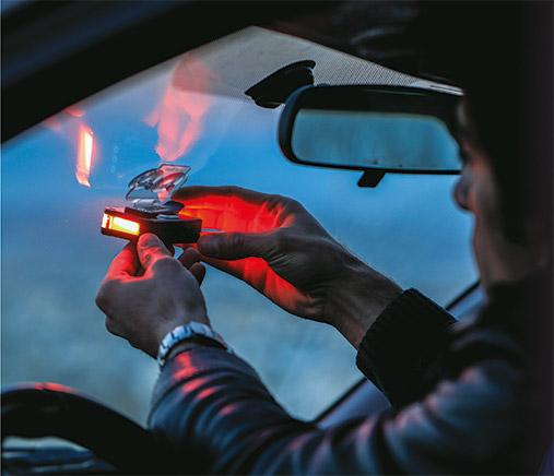 چراغ پلیسی ماشین