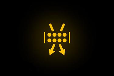 نماد اخطار فیلتر هوای آلوده