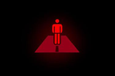 نماد هشداردهنده عابر پیاده